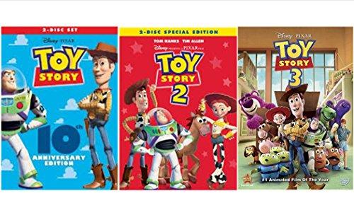 Toy Story Trilogy: Toy Story / Toy Story 2 / Toy Story 3 (5 Disc Edition)