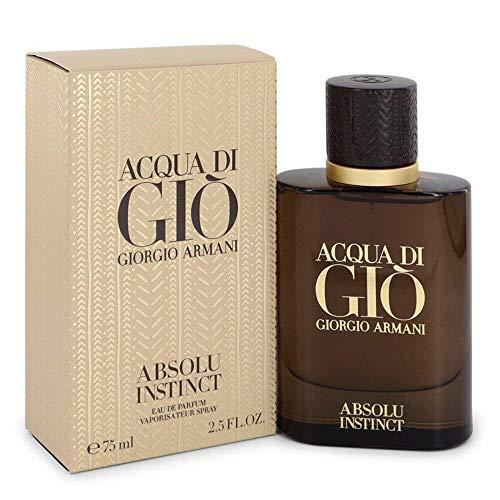 Giorgio Armani Men Acqua di Gio Absolu Instinct Eau de Parfum Spray, 2.5 Oz