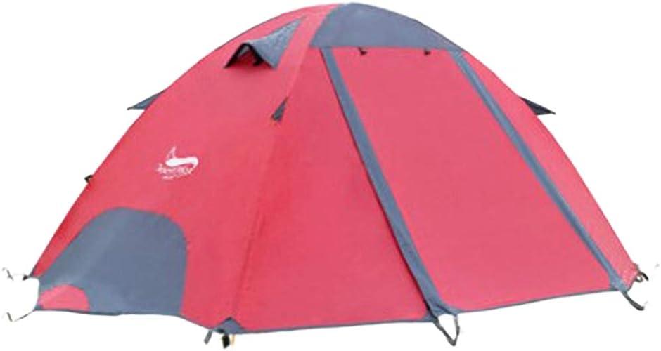 JESSIEKERVIN YY3 Tente 2 Personnes à Double Pont Tente de Prougeection Contre la Pluie 3 Saison Prougeection Contre la Pluie à Assembler Ultra-léger pour la randonnée en Camping