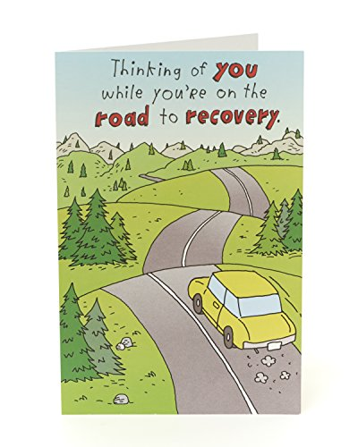Get Well Soon Card Funny - Get Well Soon Gifts - Gift Card - Get Well Card for Women - Get Well Card for Men - Funny Gifts