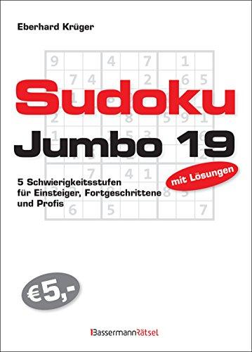 Sudokujumbo 19: 5 Schwierigkeitsstufen - für Einsteiger, Fortgeschrittene und Profis