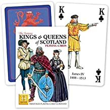 KINGS AND QUEENS OF SCOTLAND by Heritage Playing Cards