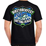 2019 Biketoberfest Daytona Beach Official Logo T-Shirt Black