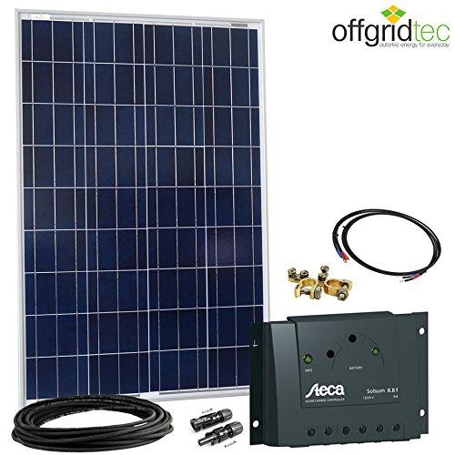 Kit solaire Offgridtec 12V 100W Contrôleur 8A