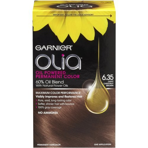 garnier hair dye olia - 8