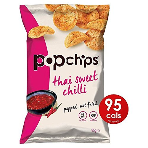 Popchips Thai Sweet Chilli Popped Potato Crisps 85g