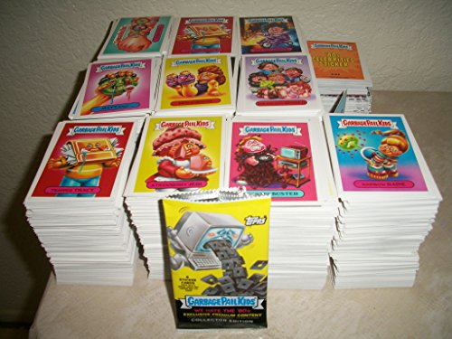 2018 Garbage Pail Kids -WE Hate The 80s- Lot of Thirty Different Stickers + 2 Cereal Killer Cards