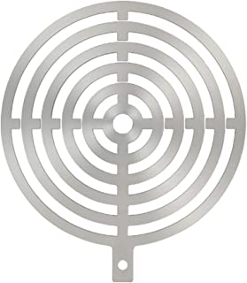 Highwild Steel Target Magnetic Painting Stencils 4 6 8 10 12 inch | for AR500 and Metal Shooting Targets Bullseye Pattern