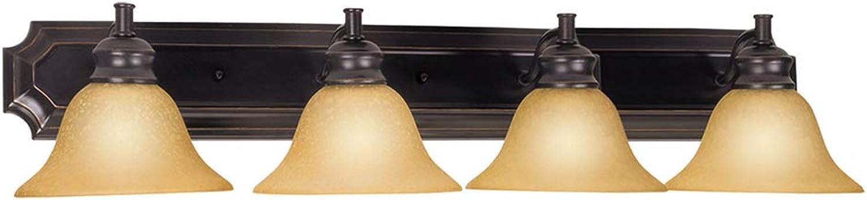 Design House 511758 Bristol 4 Light Vanity Light, Oil Rubbed Bronze