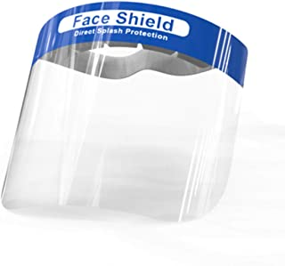 Spedy Safety Full Face Grinding Shield,Anti-Fog Full Face Shield Eye and Head Protection,Adjustable Welding Helmet Protective Visor,Anti Splash,Ideal for Automotive,Manufacturing(Clear) splasd5