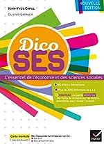 Dico SES - Dictionnaire d'économie et de sciences sociales de Jean-Yves Capul