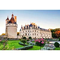 大人用パズルジグソー1000ピース、世界建築傾倒塔日本風景風景木製パズルゲームおもちゃアート写真装飾壁画,FrenchCastle