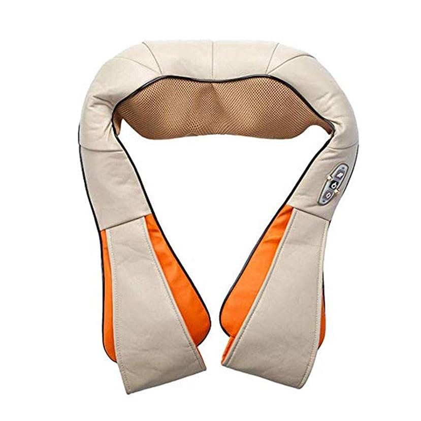 選択する前置詞オプショナルマッサージショール - 首の後ろの肩のための加熱された深い混練マッサージと充電式マッサージャーは車のオフィスでの使用で自宅にいることができます,ベージュ