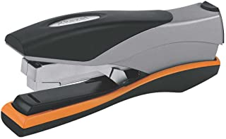 REXEL 2102357 Optima Stapler,OPTIMA40 FS 40SHT LOWF ORG,SLV
