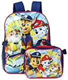 Nickelodeon Boys' Paw Patrol Backpack with Lunch, Red, ONE SIZE