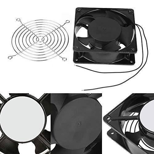 HEEPDD Ventilador de incubación, Incubadora portátil Ventilador de enfriamiento Ventilación de Aire Accesorios para máquinas de incubadoras pequeñas AC 220-240V
