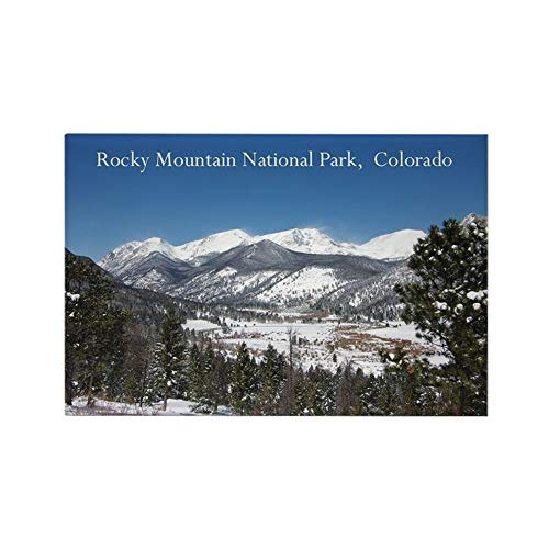 CafePress Rocky Mountain National Park Magnets Rectangle Magnet, 2'x3' Refrigerator Magnet