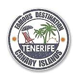 A/X 13cm x 13cm Destino Famoso Islas CANARIAS Tenerife calcomanía Pegatina Reflectante Pegatinas de Coche Accesorios de Motocicleta