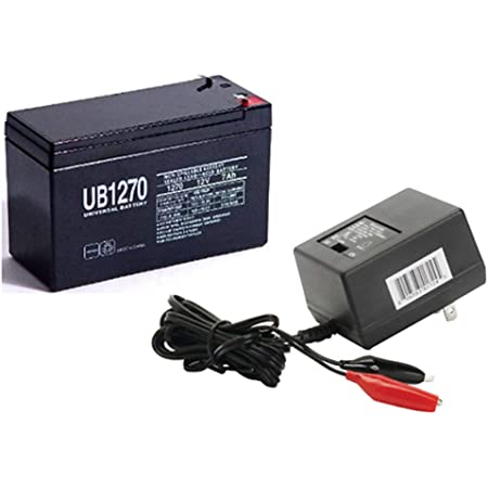 Universal Power Group 12V 7AH Battery for Vexilar FL-8SE Genz Pack with Charger