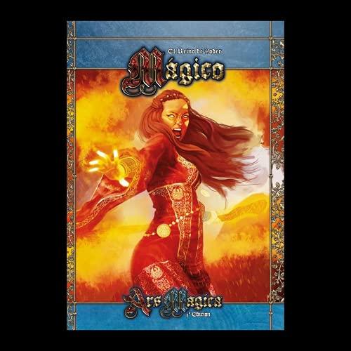 Holocubierta-El Reino de Poder mágico (Asmodee, HOLAM06), Color