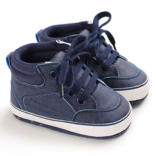 Baby Shoes Toddler Boy Shoes Infant Girl Shoes Non-Slip and Soft Sole Sneakers First Walker Moccasins (RM15B, 9_Months)