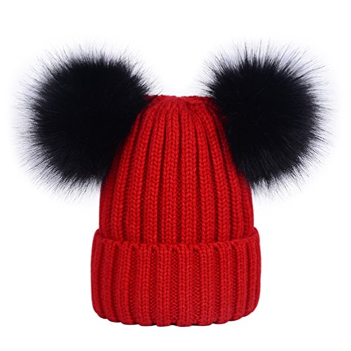 LAUSONS Berretti invernali da donna cappelli in...