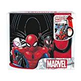 Spiderman – Tasse – Multiverse – Tasse à café effet thermique – Héros et méchants – Mug XXL – Céramique – Boîte cadeau