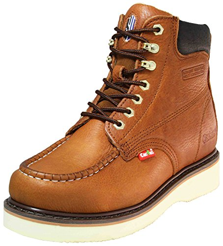 Cactus Work Boots 622M Light Brown Size 9