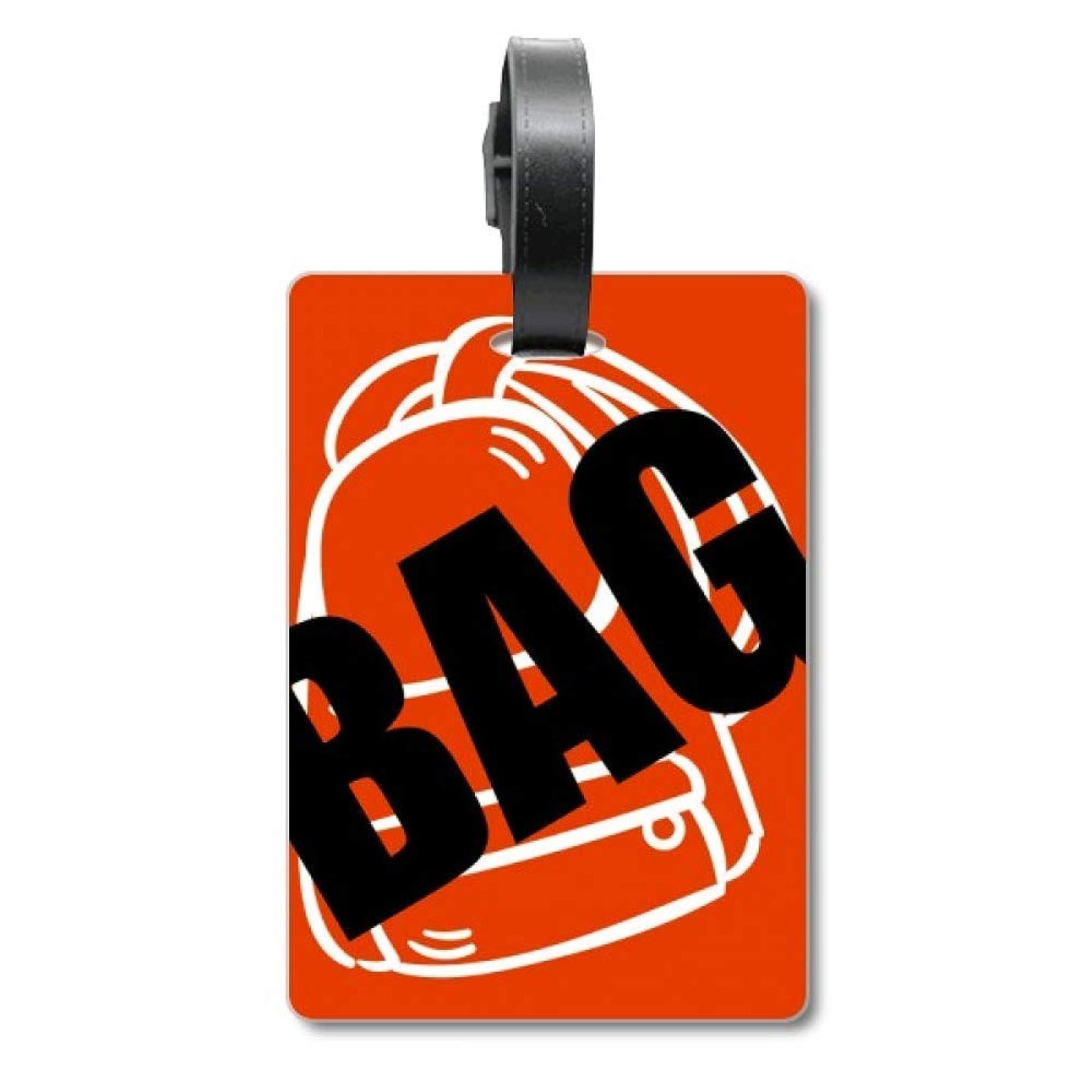 アレイ囲む安定した旅行カバンのタグ旅行者の識別標識