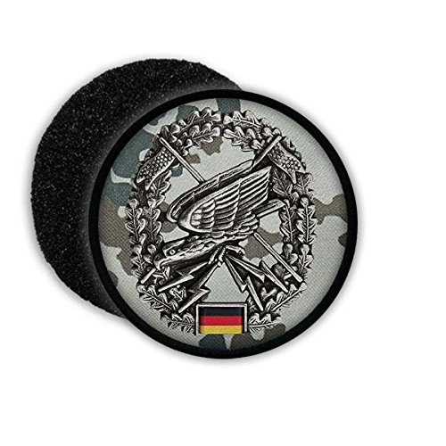 Copytec Patch BW Fernspäh ISAF Barett Abzeichen FST Einheit Bundeswehr Patch Tarnung Adler #20858