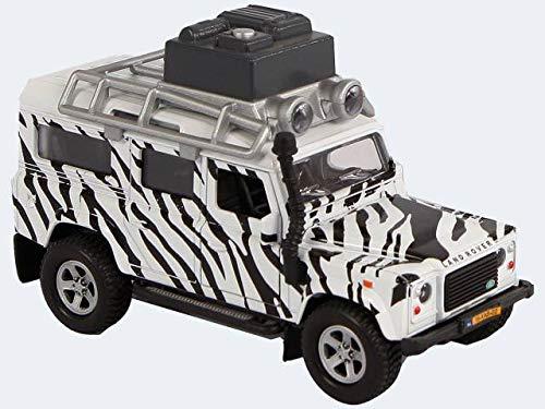 Speelgoed 510753 - Einfache Spielmodelle Diecast Auto Landrover Defender Safari, Mehrfarbig