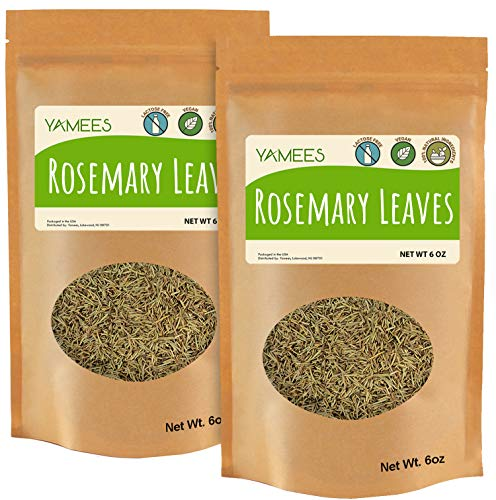 Yamees Rosemary - 12 Oz (6 Oz Each) – 100% Natural – Dried Rosemary – Bulk Rosemary - Bulk Spices