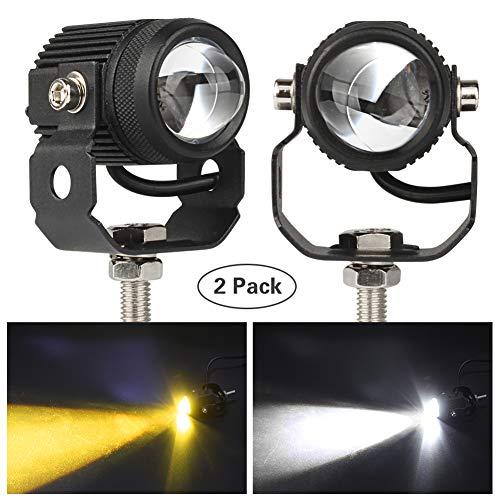 Motorcycle LED Fog Lights, 2 Pack LED Driving Lights Motorcycle Fog...
