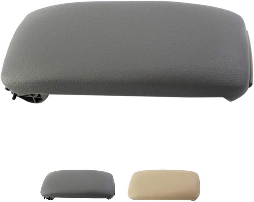 Royalr For Audi A3 8P 2003-2012 Center Console Armrest Lid ABS armrest Lid Leather ABS Texture Replacement 8P0864245P