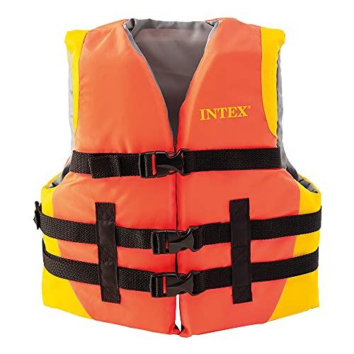 Intex 69680 - Chaleco para flotar juvenil, flotación para niños, ayuda a la flotación, peso 30-40 Kg