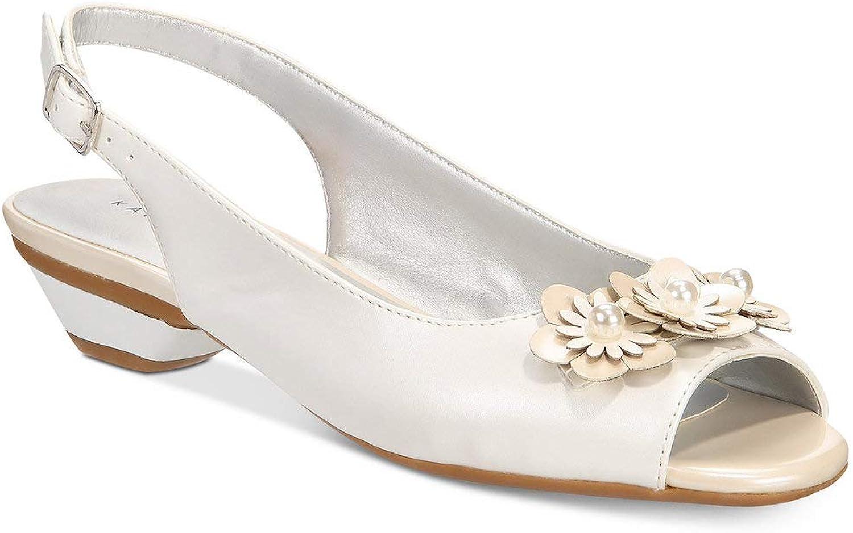 Karen Scott Womens Irmaa Peep Toe Special Occasion Slingback Sandals