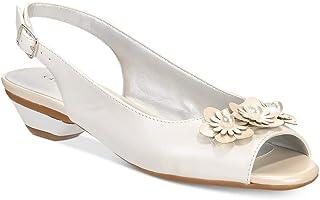 Karen Scott Womens Irmaa Peep Toe Special Occasion Slingback Sandals US