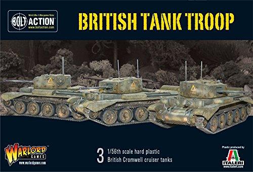 Troupe de chars britannique - 3 1 / 56e échelle