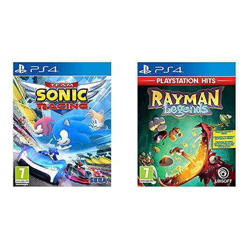 Team Sonic Racing, PS4 + Rayman Legends