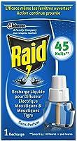 Raid Recharge Electrique Liquide Anti-moustiques 45 Nuits 27 ml - Lot de 3