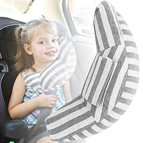 Xnuoyo Protezione per Cintura di Sicurezza, Copricintura per Bambini, Cuscino per Cintura di Sicurezza per Auto Può Proteggere il Collo, Adatto a Bambini, Adulti