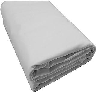 "Mybecca White 100% Cotton Muslin Fabric Textile Draping Fabric Wide: 60 inch 2-Yards (5 Feet x 6 Feet)(60"" x 72"")"