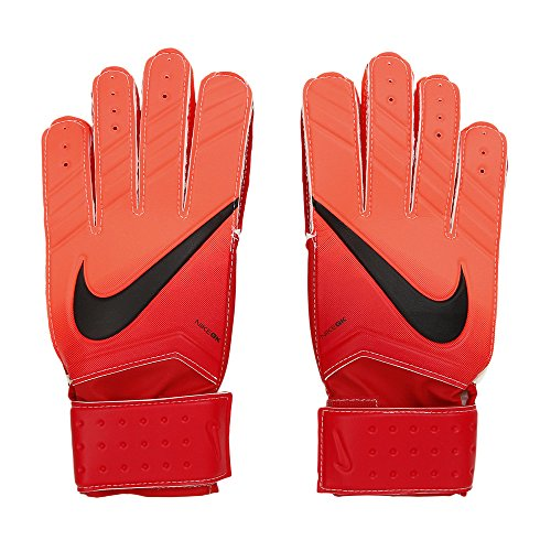 NIKE Nk Gk Mtch Fa16 Guantes de Portero, Hombre, Rojo (University Red/Hyper Orange/Black), 9