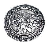 Juego de Tronos Stark Broche Casa de la Estrella Canción de Hielo y Fire Pin El Escudo