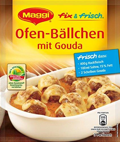 Maggi - Ofen-Bällchen mit Gouda - 41 GR