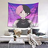 FPDecor Wandbehang Wandteppich, Lil Peep Wandbehang Wandteppich Deckendekoration Wandteppiche für...