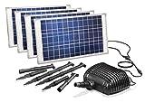 Solar de arroyo Bomba Set Lugano 100W Módulo Solar 5000L/H caudal Solar Bomba Agua Caso Bomba Estanque 101781