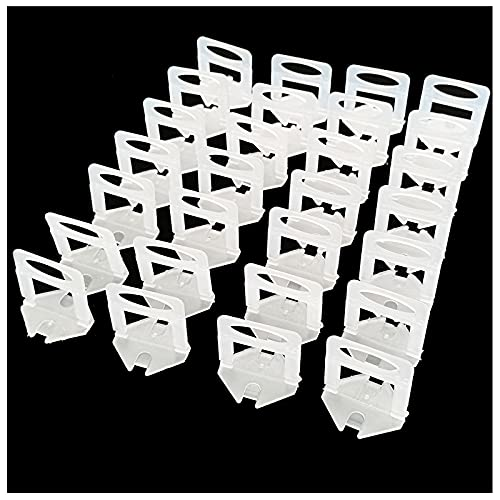 500 pcs tile leveling system,tile spacers 1/8 inch,tile leveling for Professional Ceramic Tile and Stone Installation (clear)