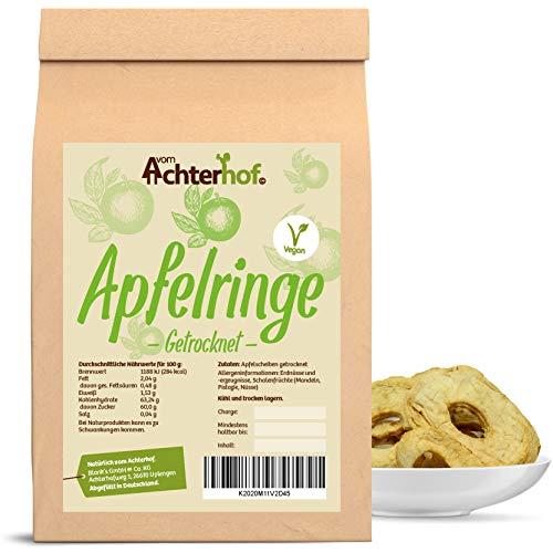 1 kg Apfel-Ringe getrocknet ungesüsst und ungeschwefelt original vom-Achterhof Qualität