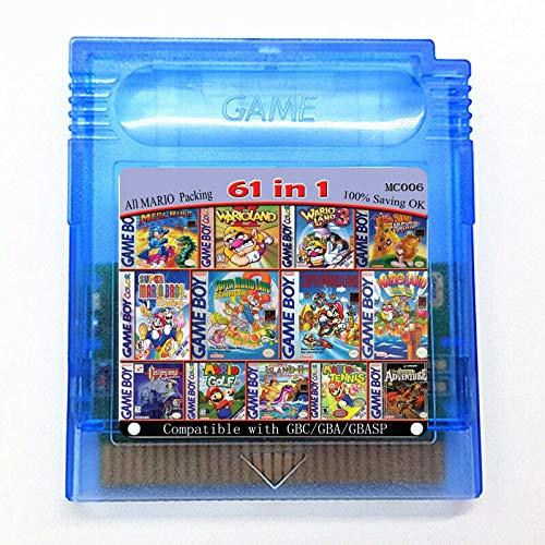 61in1 Game Cartridge for GBC Console - Game GB Color Retro Classics USA Version